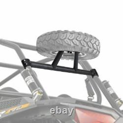 UTV Spare Tire Carrier Mount Rack with Side Mirrors For Polaris RZR XP4 1000 TURBO