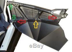 UTVGiant 4-Door Polaris RZR XP 1000, Turbo, Turbo S Lower Door Inserts, Made USA