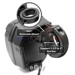 Waterproof ATV UTV RZR Polaris Bluetooth Speakers Stereo Audio Amp Music System