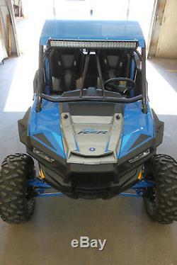 XFR Nemesis Radius Polaris RZR XP 1000 Roll Cage Rear Bumper Aluminum Roof