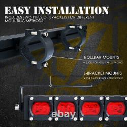Xprite 30 Offroad Rear Chase LED Light Bar Reverse/Brake for UTV Polaris RZR XP