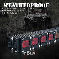 Xprite 36 LED Rear Chasing Strobe Light Bar Brake Reverse for UTV ATV RZR Buggy