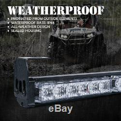 Xprite 36 inch Offroad LED Light Bar Rear Chase Running for ATV SXS RZR 4X4 4WD